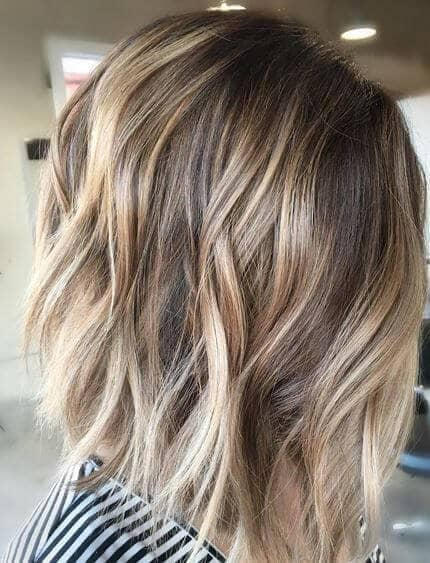 Image result for Dirty Blonde Balayage Lob