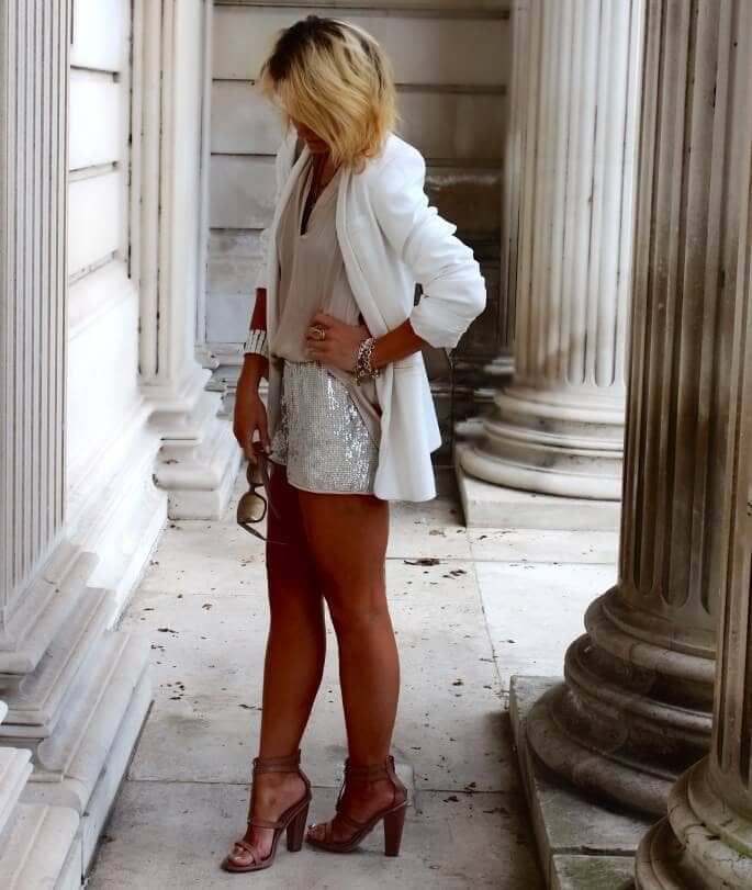 Winter White for Amazing Legs
