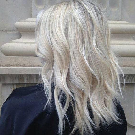 Frosty Blonde Bedhead Waves