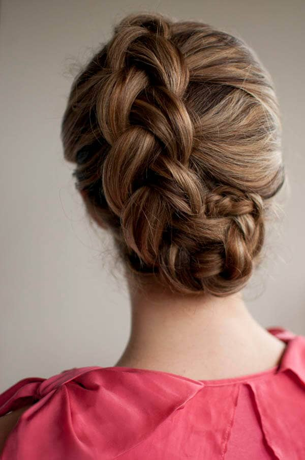 Perfectly Tucked Side Braid