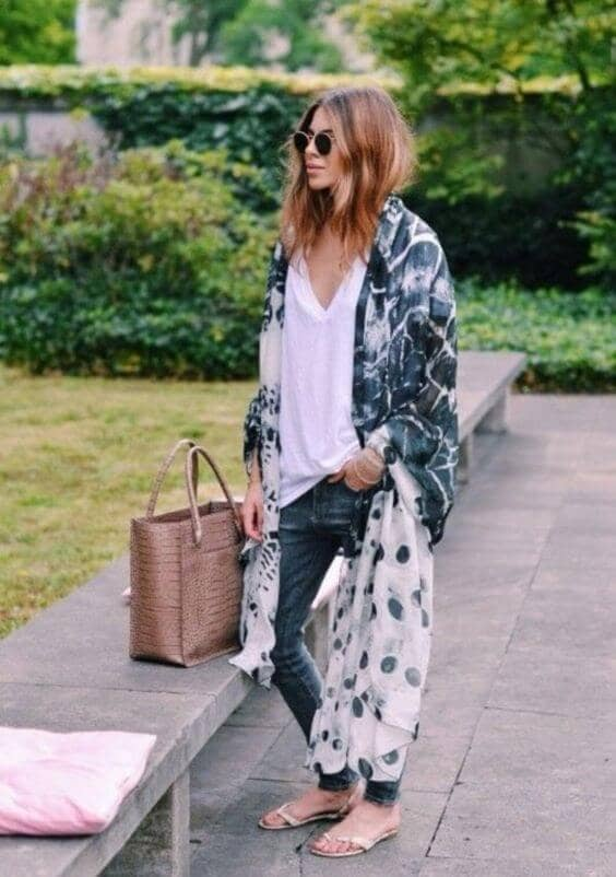 Mixed Grunge Graphic Prints
