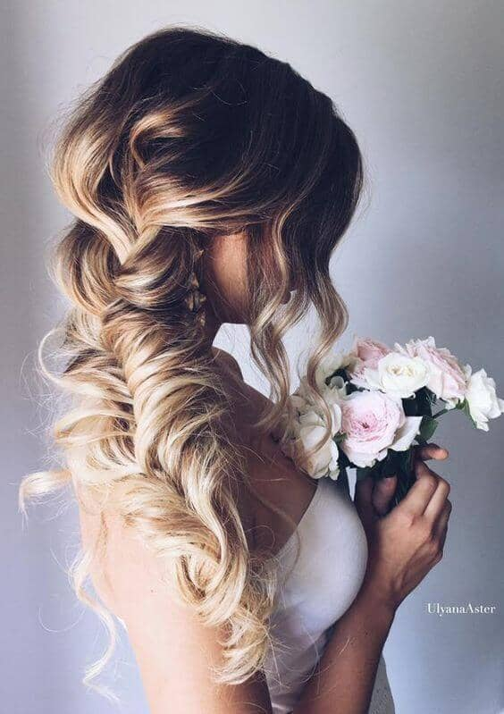 Loose, Voluminous Fishtail