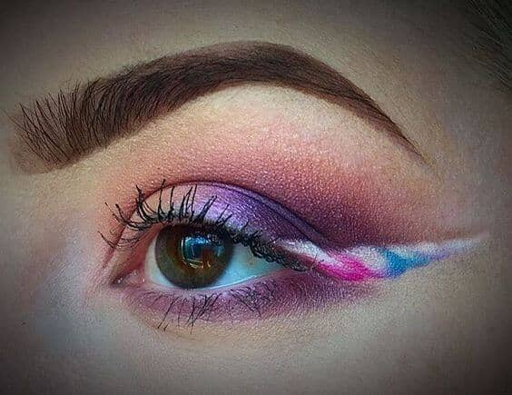 Rainbow Shadow, Unicorn Horn Cat Eye