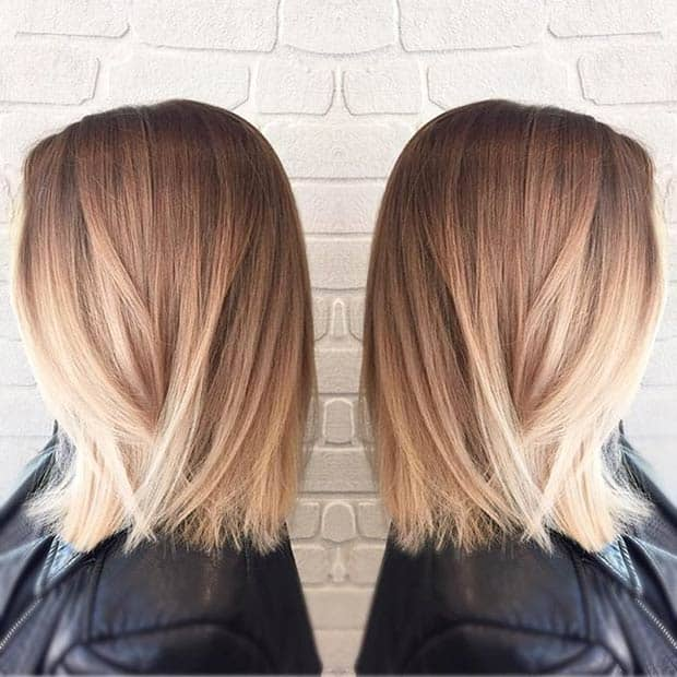 Sleek Reverse Ombre