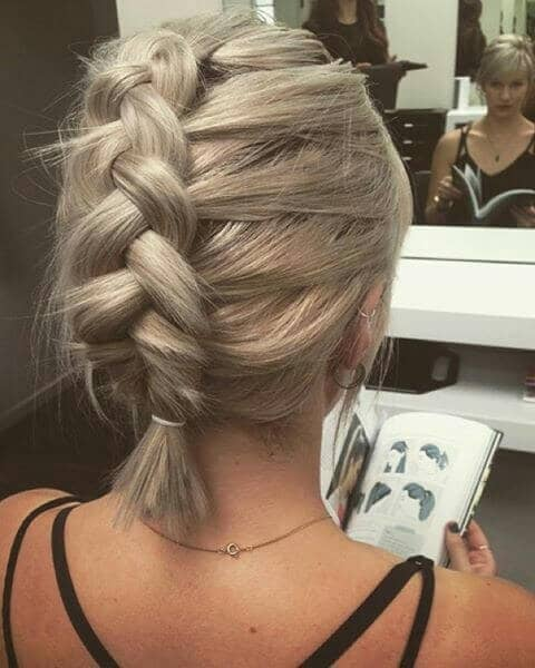 A Loose French Braid