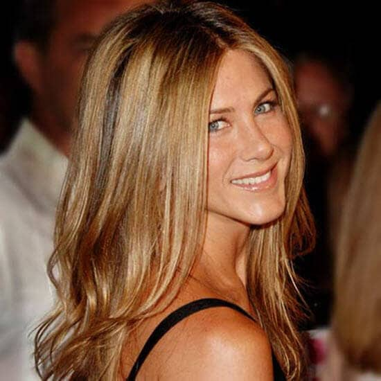 Chestnut Blonde With Highlights