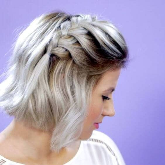 Volumizing French Braid