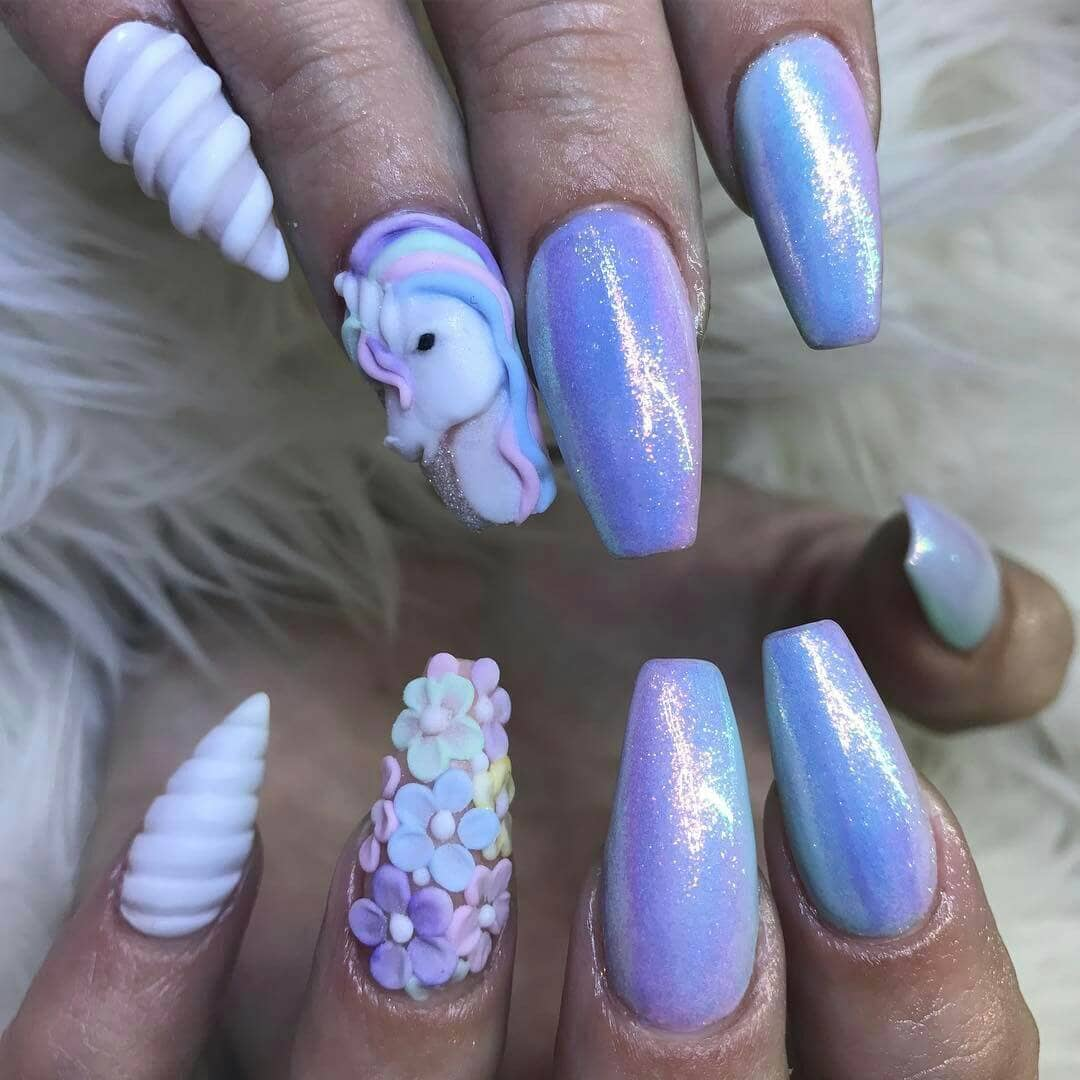 Lavender Glitter, Art, And Swirl Design