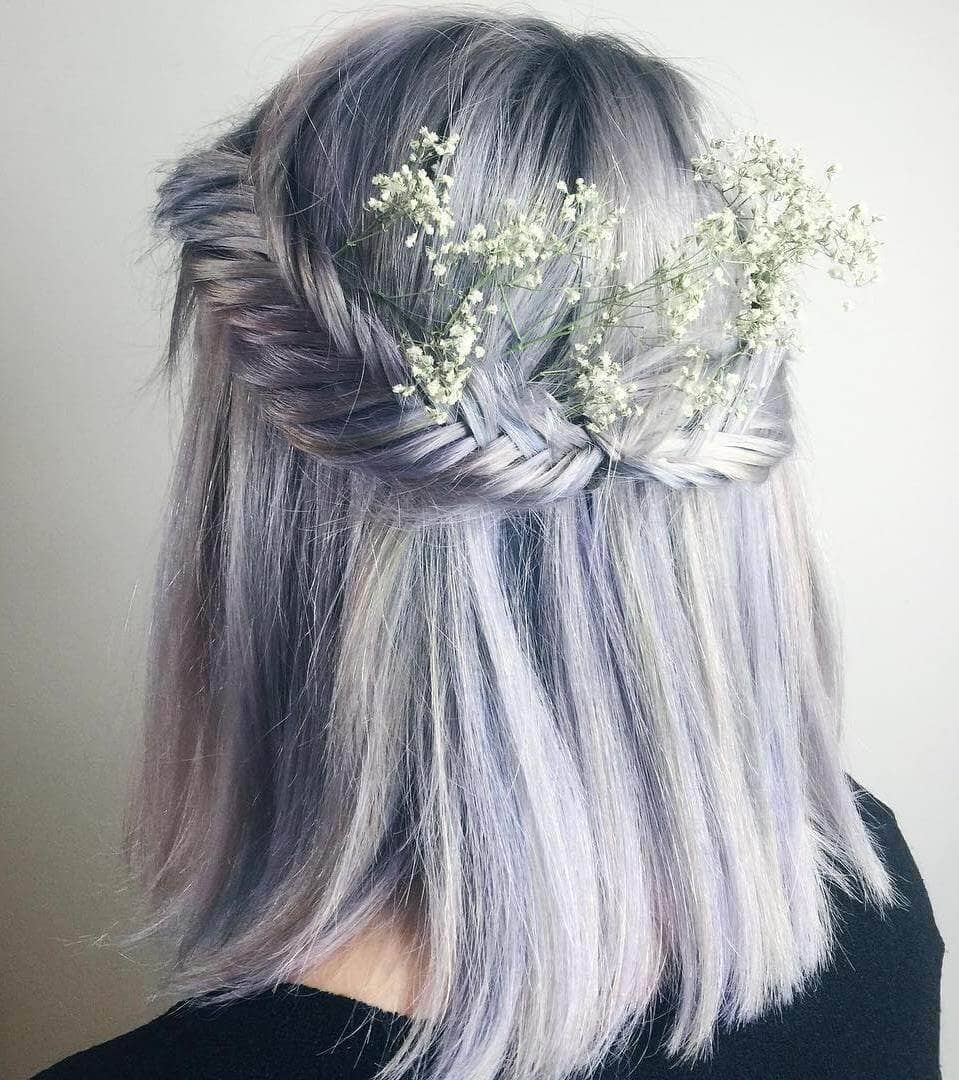 Neat Fish Plait Crown