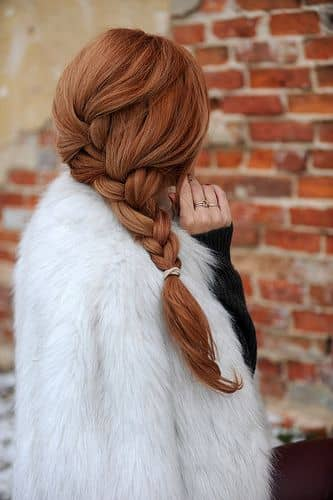 Full & Elegant Side Braid