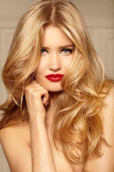 Allover Butterscotch Blonde Color