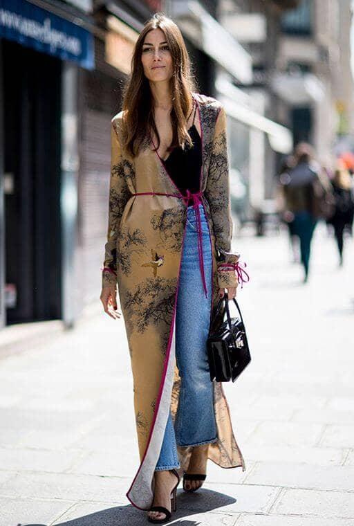 Modern Kimono Shirt Dress