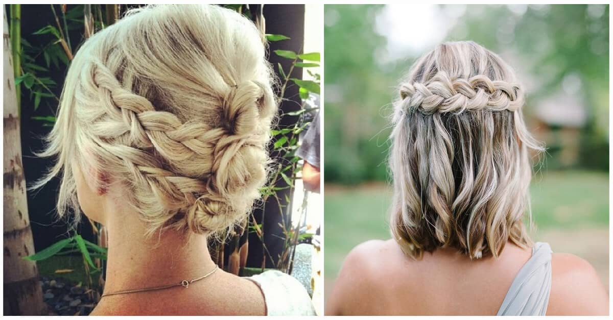 braid styles for medium hair 27 braid hairstyles for hair that are simply gorgeous 6029 | braid hairstyle for short hair facebook thelateststyle
