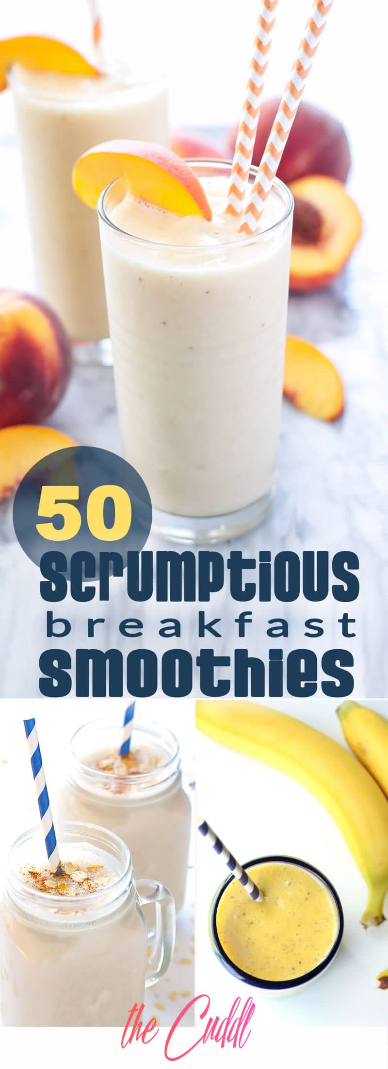 50 Breakfast Smoothie Recipes for a Delightfully Smooth Day