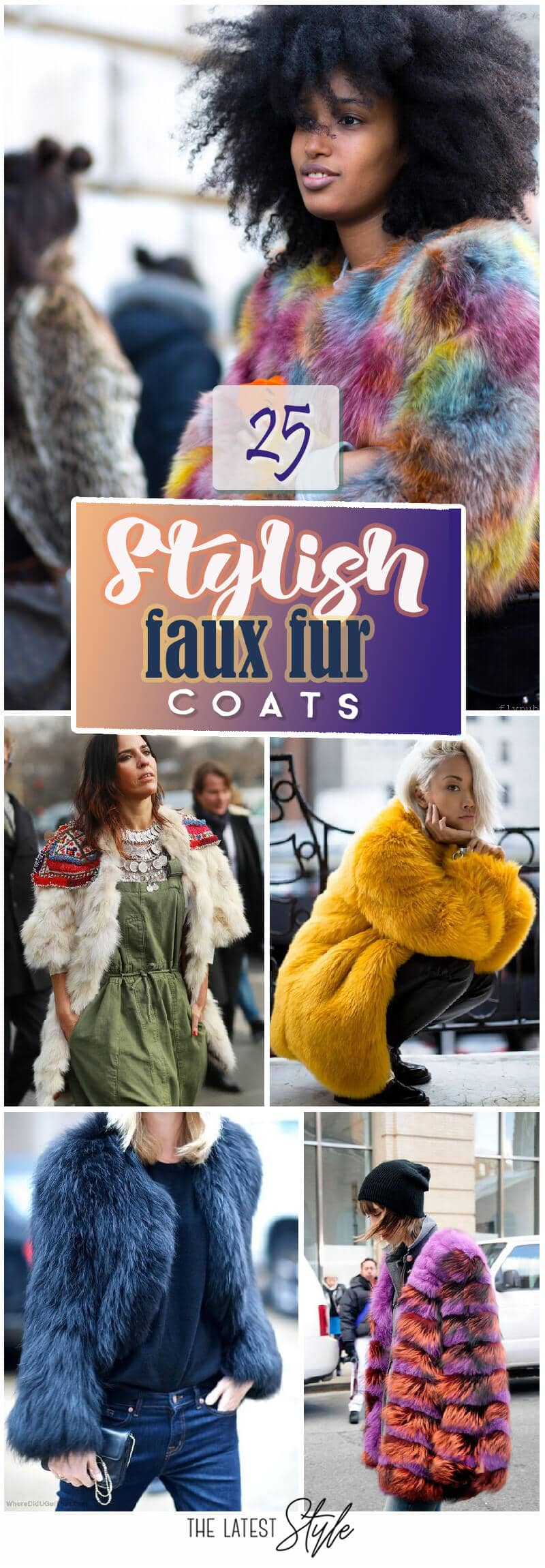 25 Faux Fur Coat Look Ideas to Rock Right Now