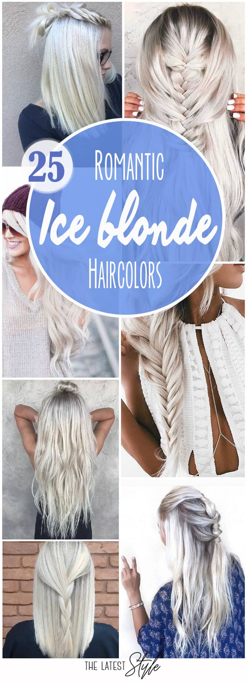 25 Romantic Ice Blonde Haircolors for Real-Life Elsas