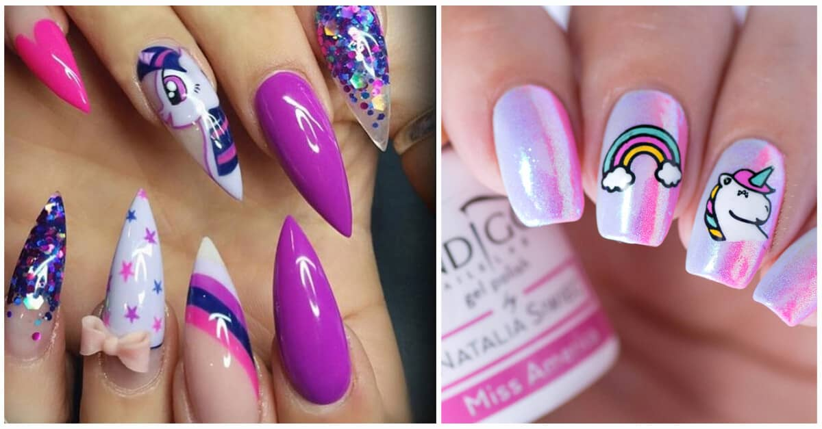 - 50 Magical Unicorn Nail Designs You Will Go Crazy For