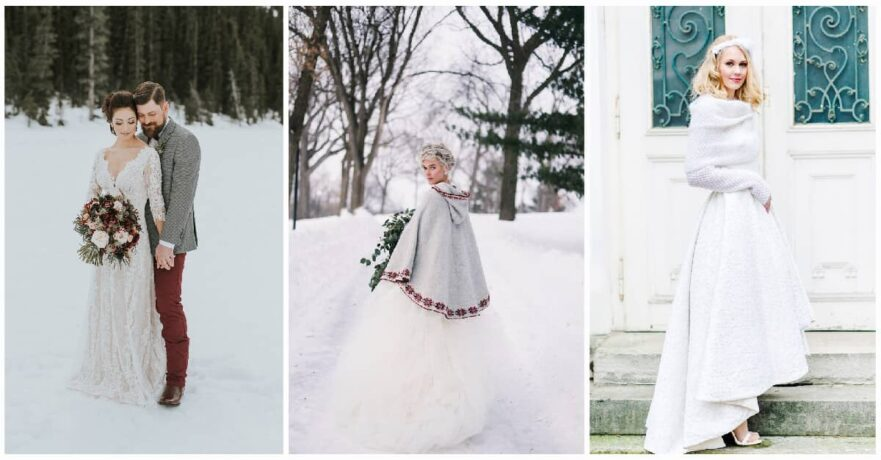 25 Wonderful Winter Wedding Dresses You\'ll Fall In Love With