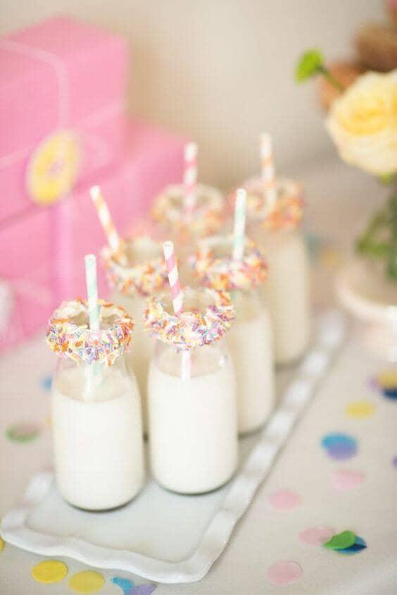 Candy-Rimmed Cream Sodas