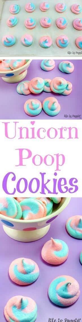 Fairy Swirl Button Cookies