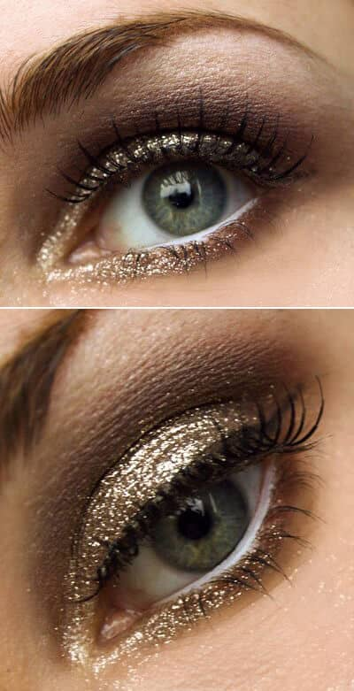 Your Eyes Deserve Gold Glitz