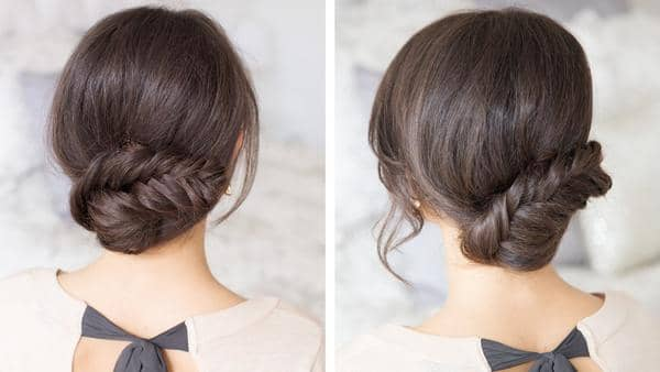 Low Fishtail Braid Twist