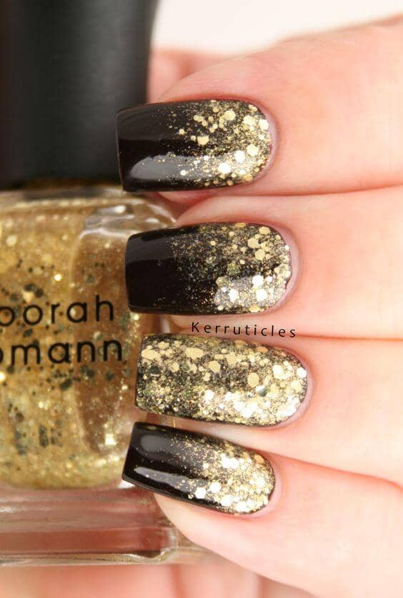 24K Magic on Your Nails
