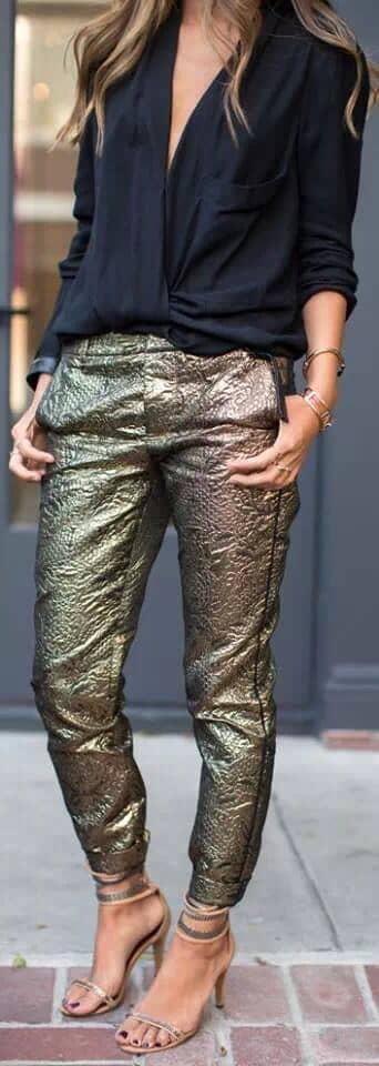 How to Slay Gold Lamé