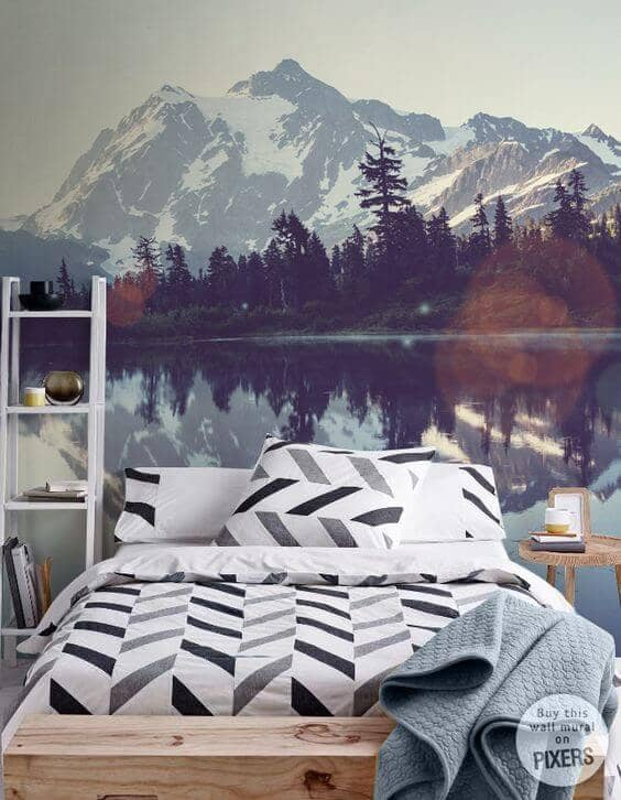 Geometric Sheets Meet Snow-Capped Mountains