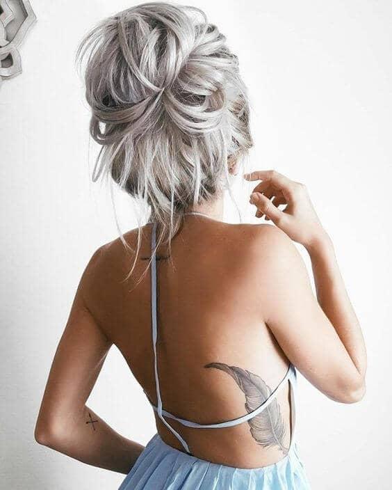 Blonde To Silver Balayage