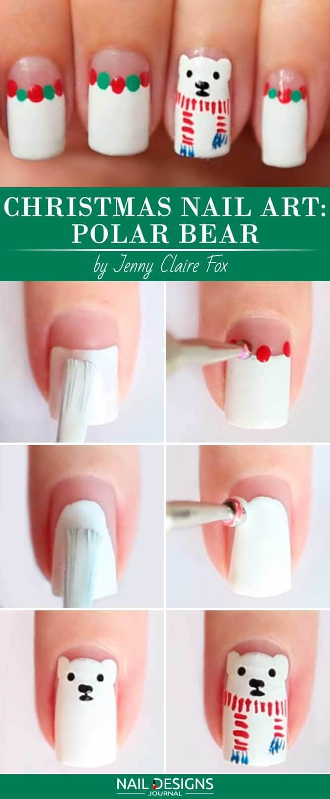 Paint Your Own Polar Bear
