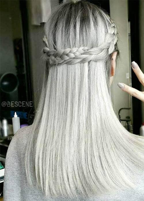 Platinum Silver Color
