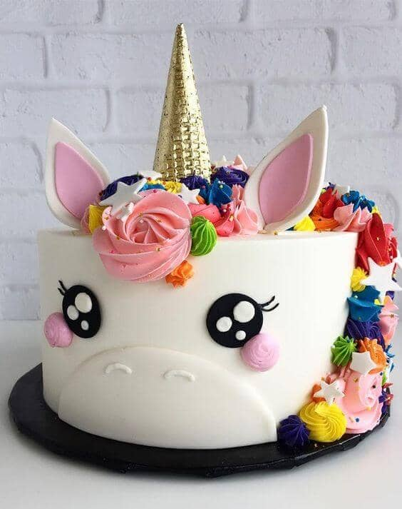 20 Magical Unicorn Princess Cake