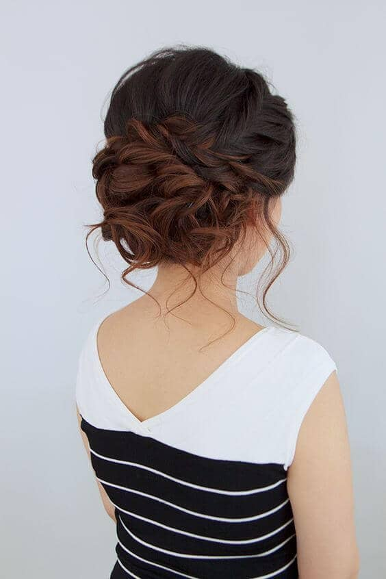 Tousled Braids And Pinned-up Tendrils
