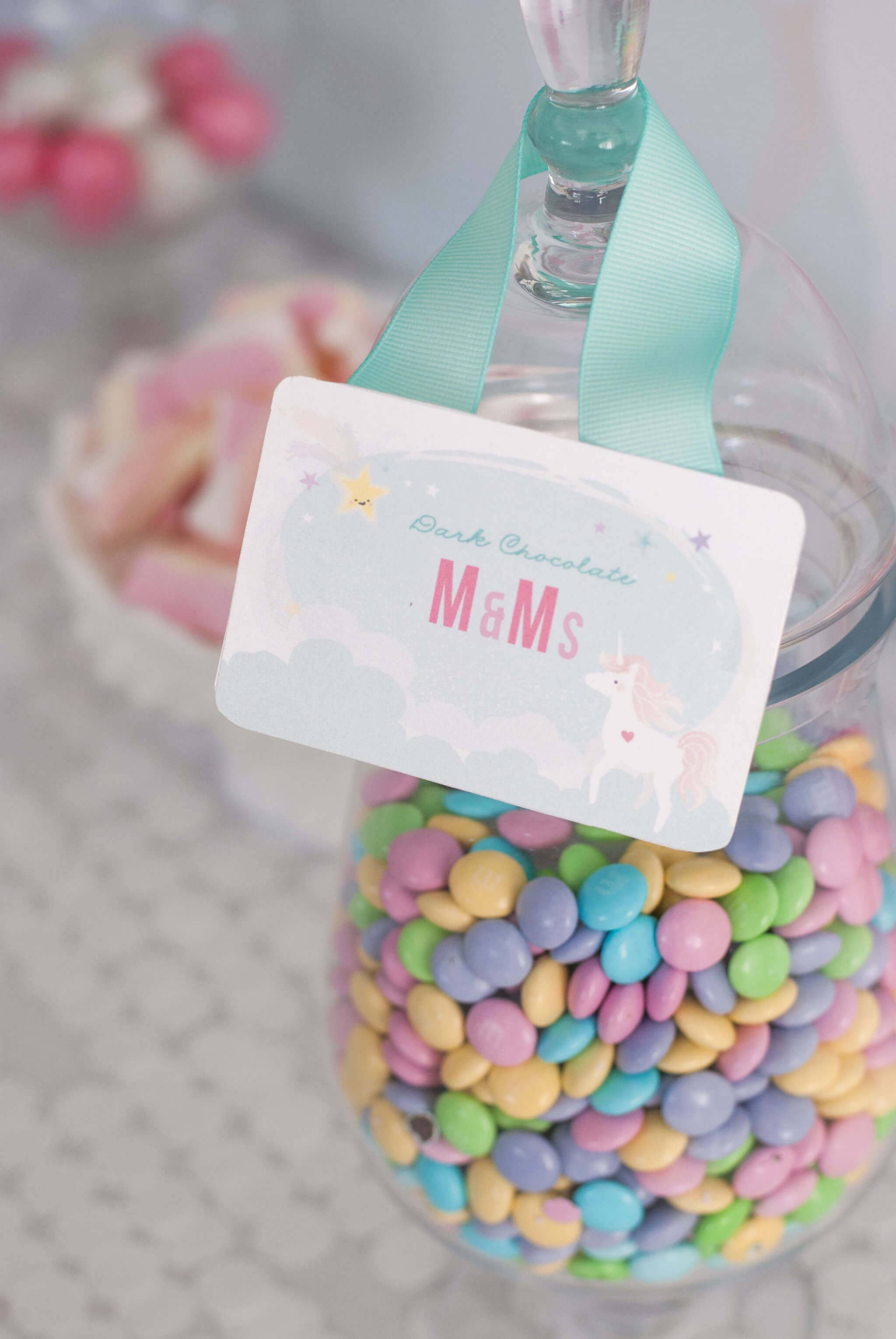 Pastel M&M Placeholder Paperweight