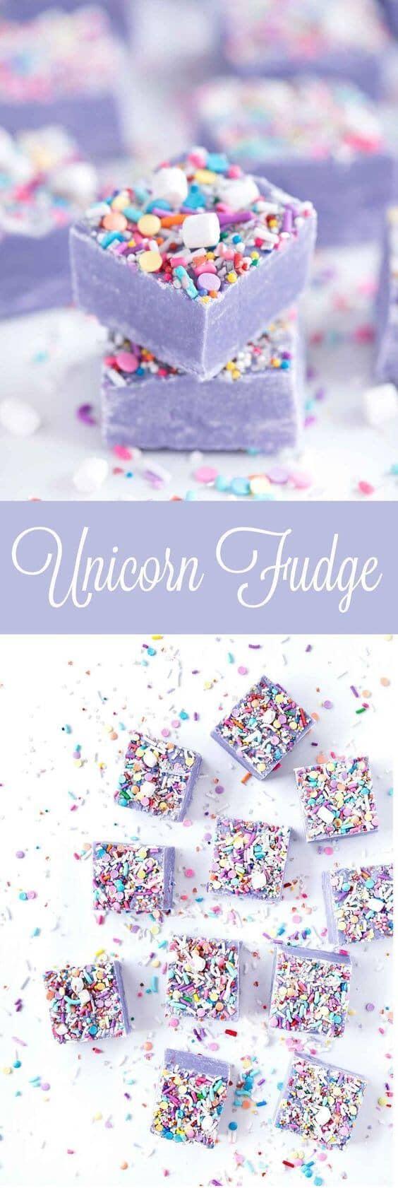 Twilight Lavender Cream Fudge Squares