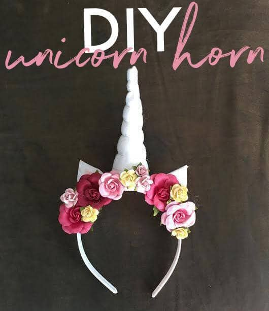 Romantic Roses Unicorn Headband