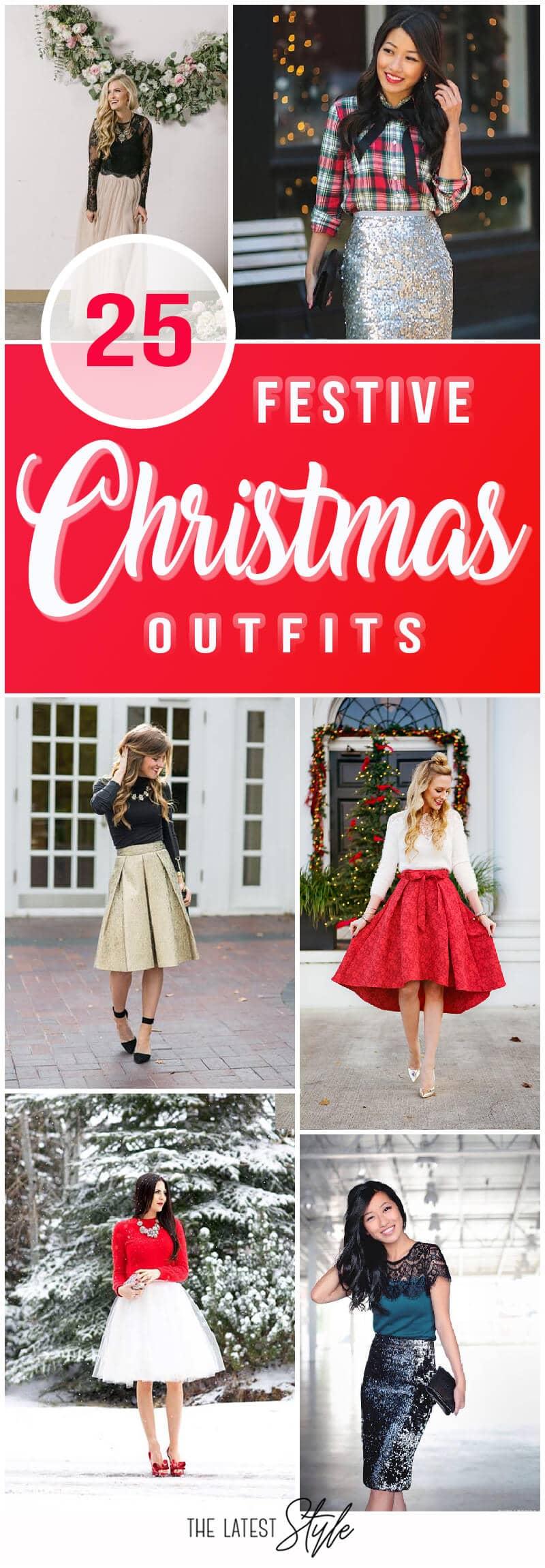 25 стильных нарядов, идеально подходящих для Рождества