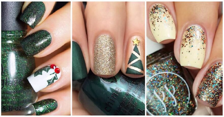 23 Runway Ready Holiday Nail Designs To Blow Their Mind