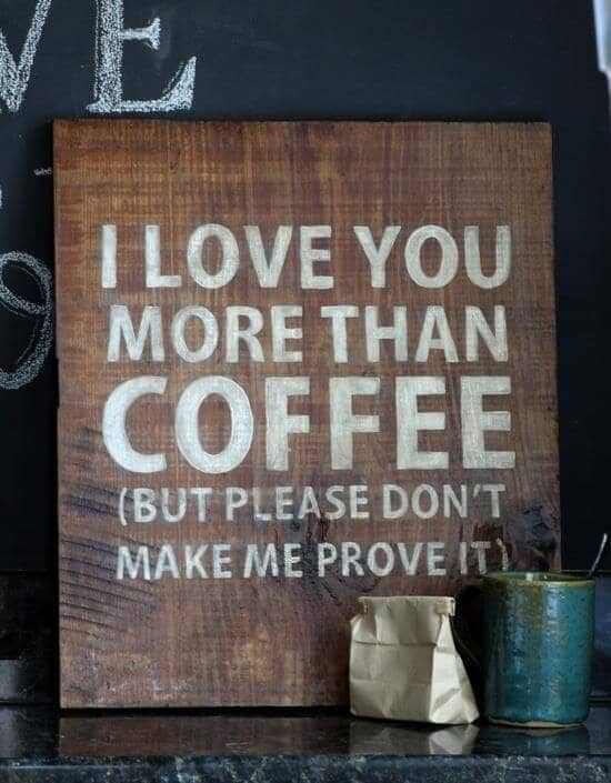 More Than the Love of Coffee...Maybe