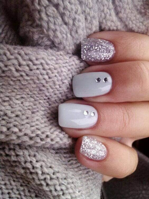 Cloud Grey with Diamond Accents