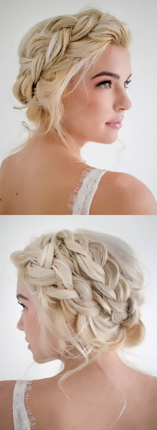 Neoclassic Fat Braid Garland