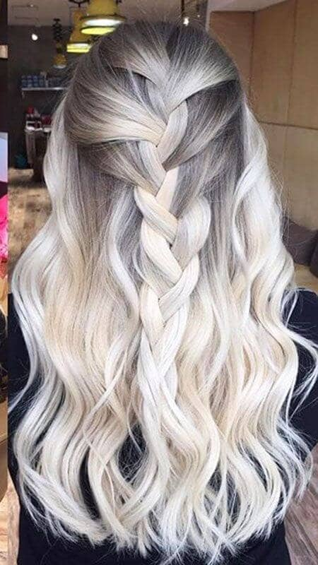 Chunky Braid into Loose Waves