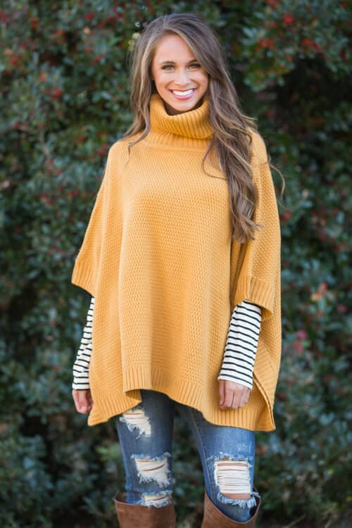 Cozy Up in an Oversize Poncho