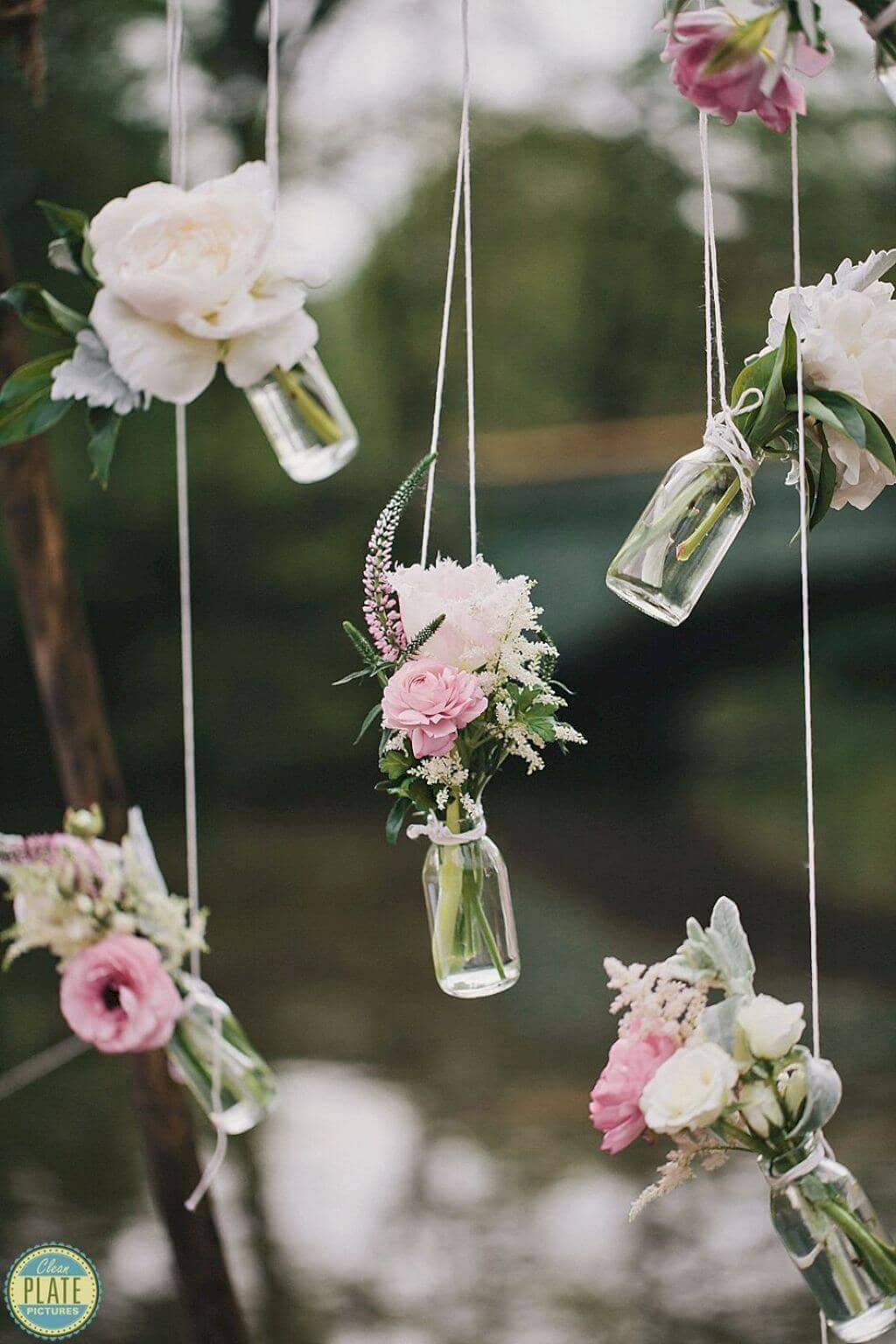 Sweet Hanging Posy Favors