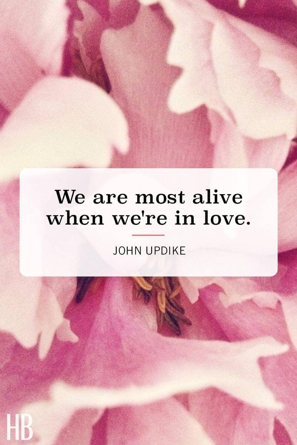 Love Is What Makes Us Feel Alive