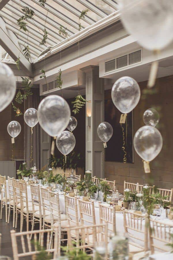 Romantic Party Decoration Ideas with Balloons