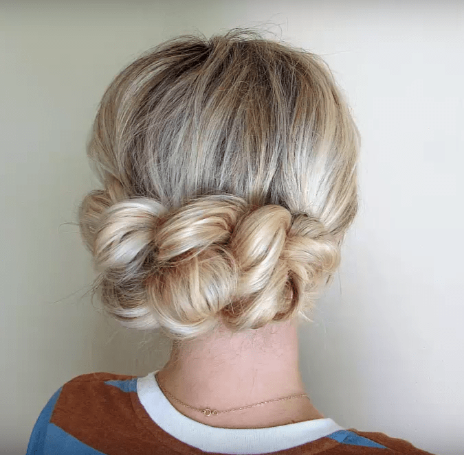 Tangled Loose Braided Updo