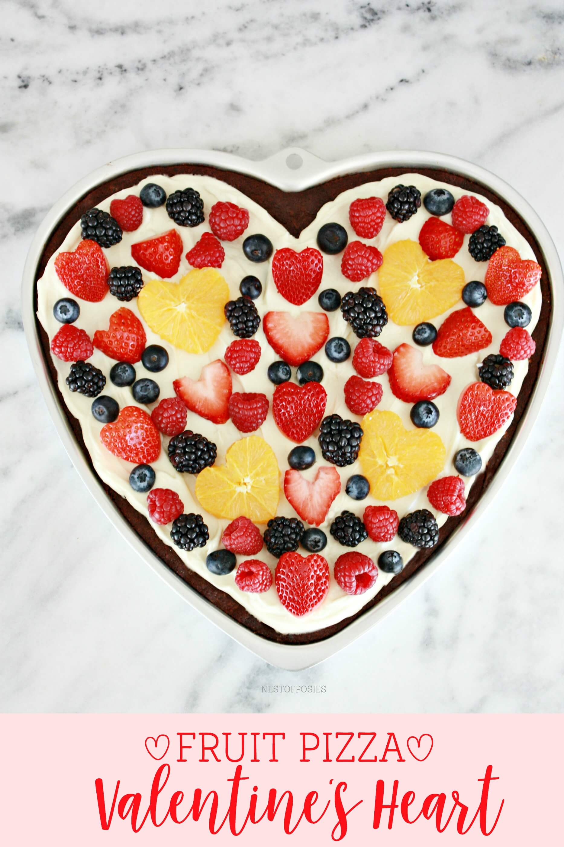A Fresh Fruit Tart for their Heart