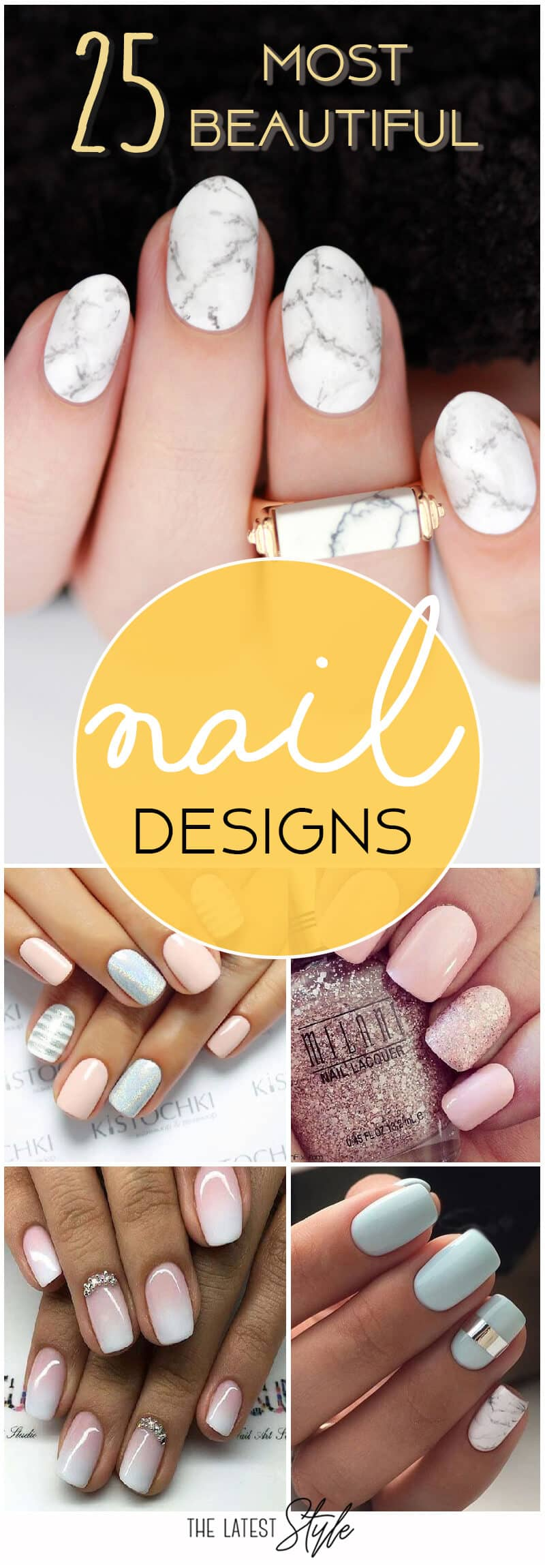 25 of the Most Beautiful Nail Designs to Inspire You
